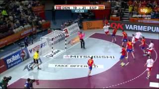 España-Dinamarca - Mundial Balonmano 2015 - Cuartos Final
