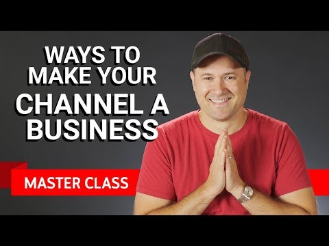 Making Your Channel a Business | Master Class ft. Tim Schmoyer