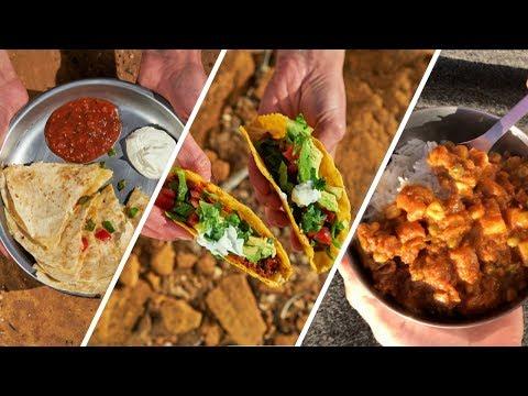 3 SUPER EASY Car Camping Dinner Ideas