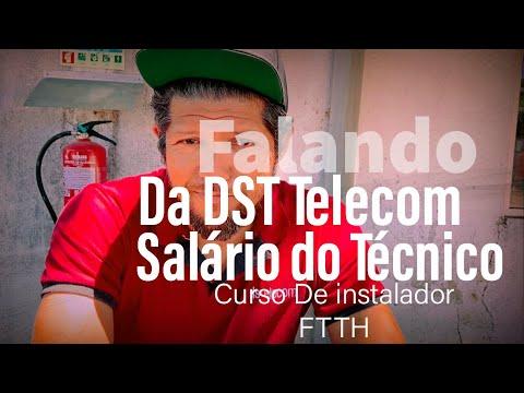 Falando De Instalação FTtH E Fibra ótica Em Portugal , DSTtelecom , Salário E Cursos De FTTH