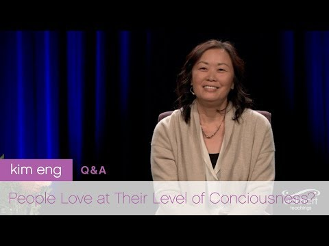 People Love at Their Level of Consciousness