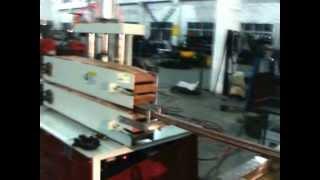 Экструзионная линия для производства стенового багета ПВХ для натяжных потолков. Экструдер.(, 2013-03-26T06:18:13.000Z)