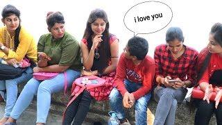 KID PROPOSING CUTE GIRL'S PRANK | I LOVE YOU PRANK | INDIA | PART-2 | Vishal Sonar |