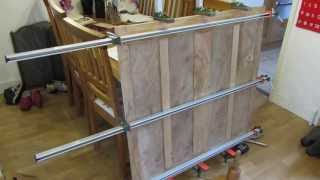 Making A Tool Cabinet - Part 3: Elm And Oak Panel Construction