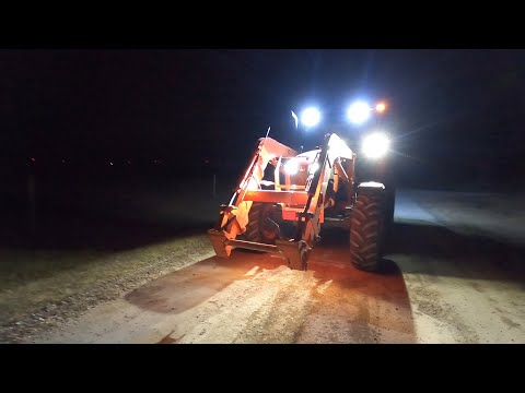 Making Daylight With The Kubota!