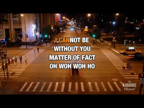 Walking After You in the style of Foo Fighters | Karaoke with Lyrics