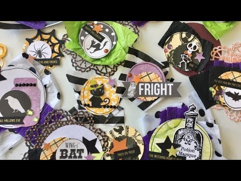 DIY Halloween embellishments share