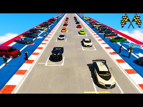 Real World Tracks in GTA 5 - Hardcore Grand Prix Racing In GTA 5 - GTA 5 Championships