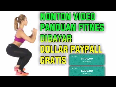 Nonton Video Tutorial Fitness 30 detik dibayar dollar Paypall $200 Gratis ! Lucky Fitness thumbnail