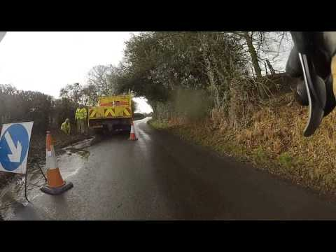Cheshire East Council finally clearing these drains