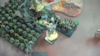 Skaven Vs Warriors Of Chaos Whf Battle Report- Blue Table Painting