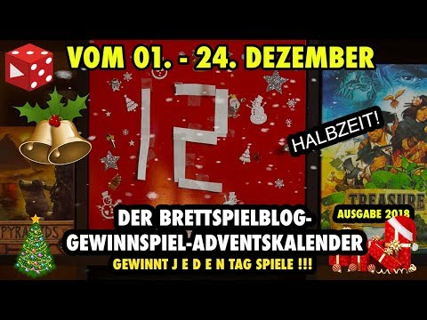 Türchen 12: Der große Brettspielblog Gewinnspiel Adventskalender 2018