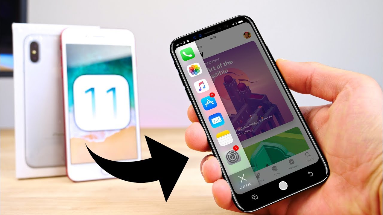 20 iPhone X Secrets Hidden in iOS 11 - YouTube