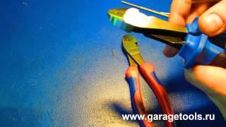 Испытание бокорезов Licota и Knipex(Наша компания Атера занимается продажей профессионального автомобильного инструмента с 2001 года. Автосл..., 2014-08-06T13:59:57.000Z)