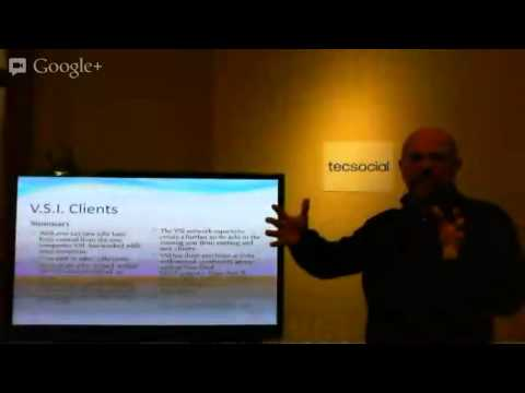 February 2013 TecSocial with John Aylward of Venture Solutions Inc.