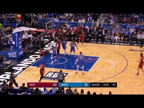 2nd Quarter, One Box Video: Orlando Magic vs. Miami Heat