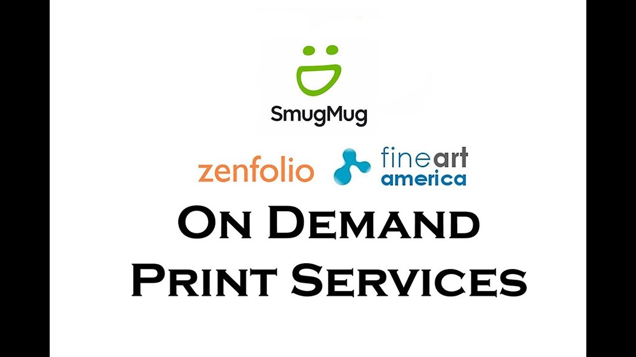 Selling Prints Through On Demand Print Services