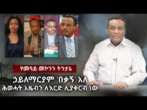 Mesay Mekonenn On EPRDF's Secret Meeting