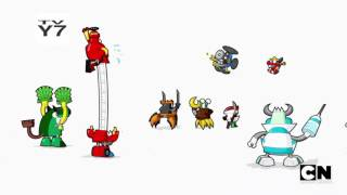 MIXELS: Nixel, Nixel, Go Away - Opening Sequence