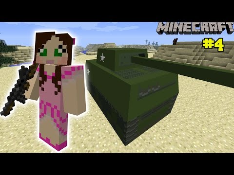 Minecraft: EPIC TANKS MISSION – The Crafting Dead [4]