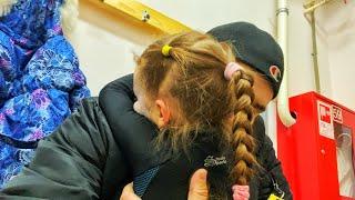 Прыжки и лишний вес 300г Фигурное катание и выходные несовместимы Lebedeva Miroslava