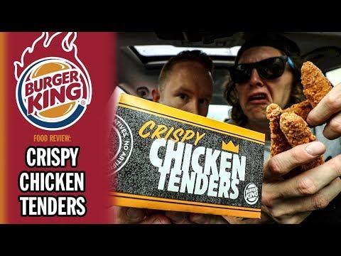 Burger King's *NEW* Crispy Chicken Tenders Food Review