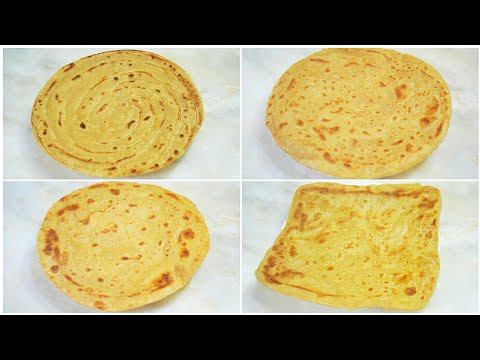 How To Make Paratha | Four Easy Ways | Paratha Recipe