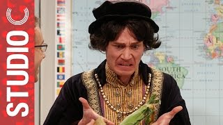 Christopher Columbus Learns The Truth About Columbus Day - Studio C