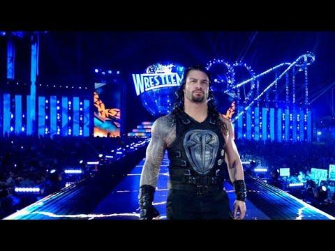 Roman Reigns Badass Entrance At WWE Wrestlemania 33