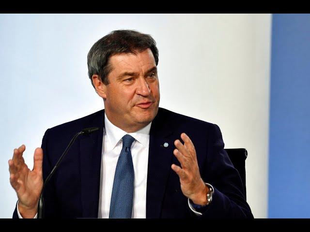 LIVE: Erklärung von CSU-Chef Markus Söder zur Kanzlerkandidatur