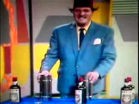 "Tommy Cooper ""GLass Bottle, Bottle Glass"""