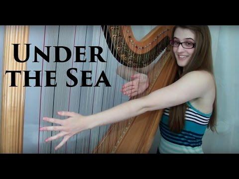 Under the Sea - Harp Cover | Samantha Ballard
