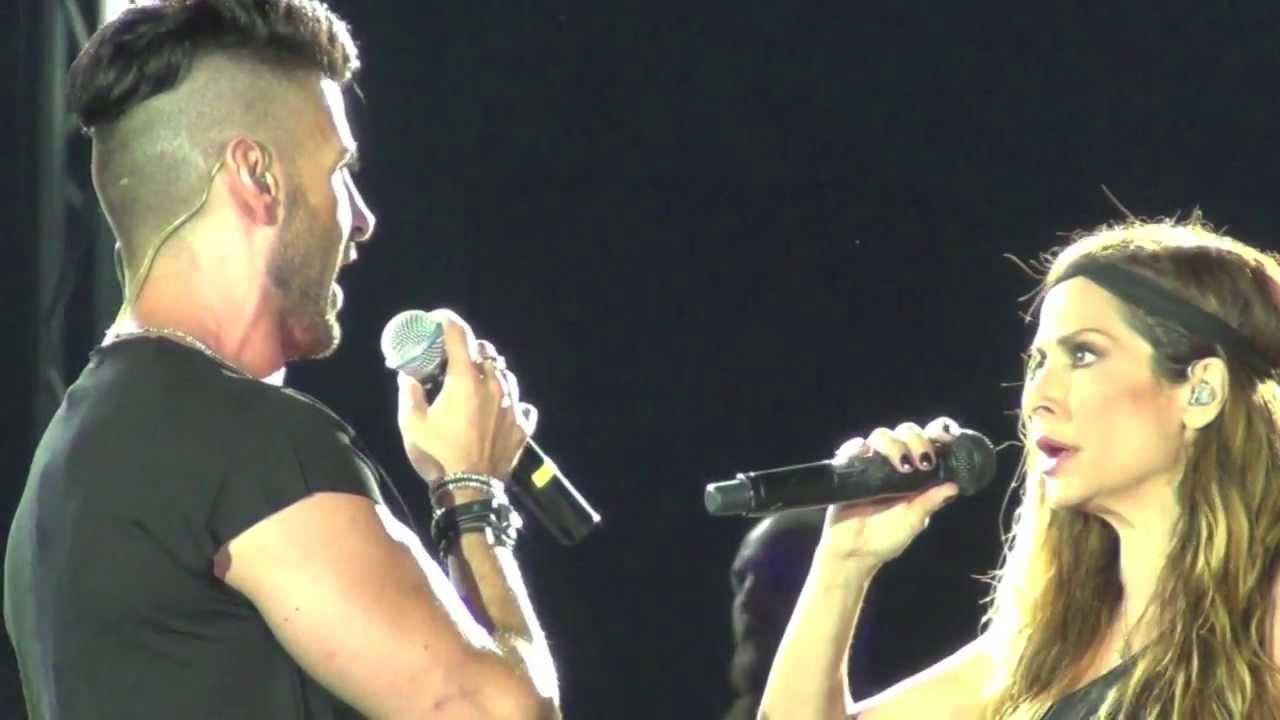 Άννα Βίσση & Παναγιώτης Πετράκης - Δαίμονες, Λεμεσός, Περιοδεία Άννα Με Πάθος (27/07/2013)