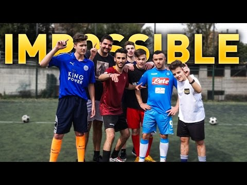 IMPOSSIBLE FOOTBALL CHALLENGE! + PENITENZA!! w/ ULTIMATE CREW e FEDE MARCONI