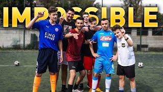 IMPOSSIBLE FOOTBALL CHALLENGE! + PENITENZA!! w/ ULTIMATE CREW e FEDE MARCONI