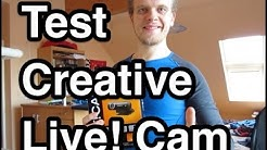 Test Creative Live! Cam Chat Hd | Webcam Test | Webcam Empfehlung