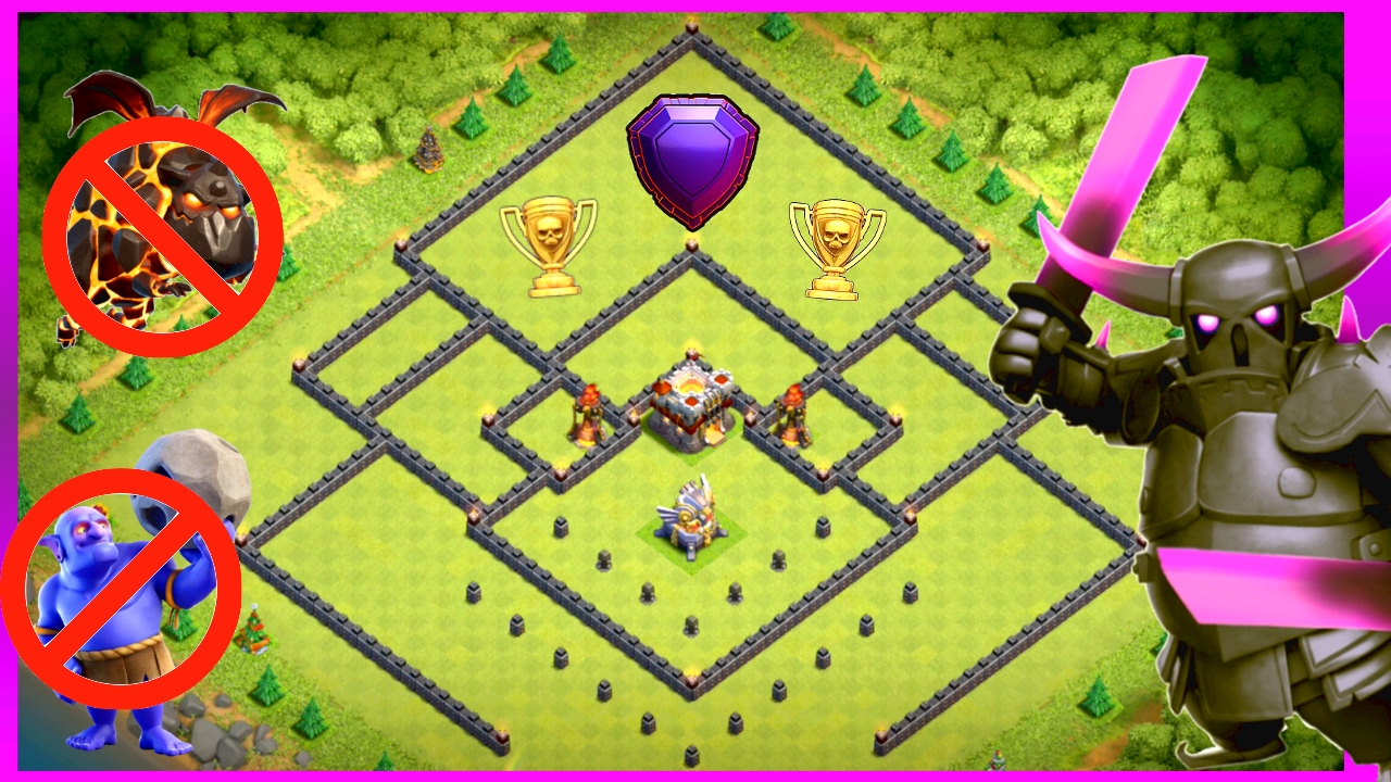 BEST TH11 (TOWN HALL 11) TROPHY/WAR BASE WITH REPLAYS