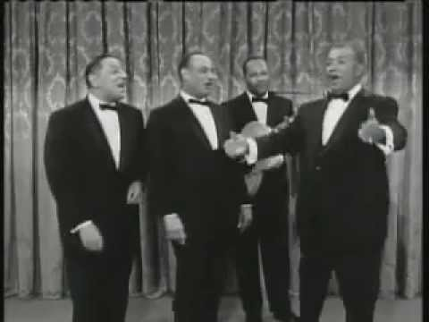 The Mills Brothers on the Jack Benny Show do Up A Lazy River