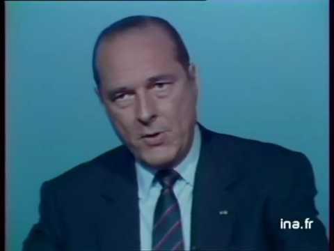 """Chirac - MItterand - Petite phrase """"En me regardant dans les yeux"""""""