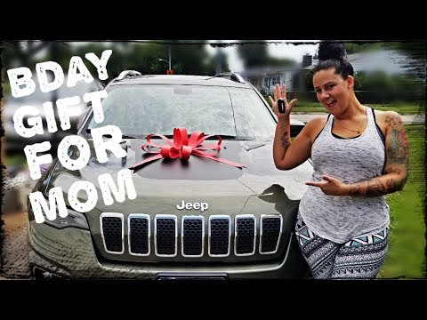 Surprise Car For Mom Birthday | 2019 Jeep Cherokee | Myhouse TV