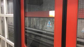 京都市営地下鉄東西線 30系更新車 六地蔵行き 烏丸御池到着