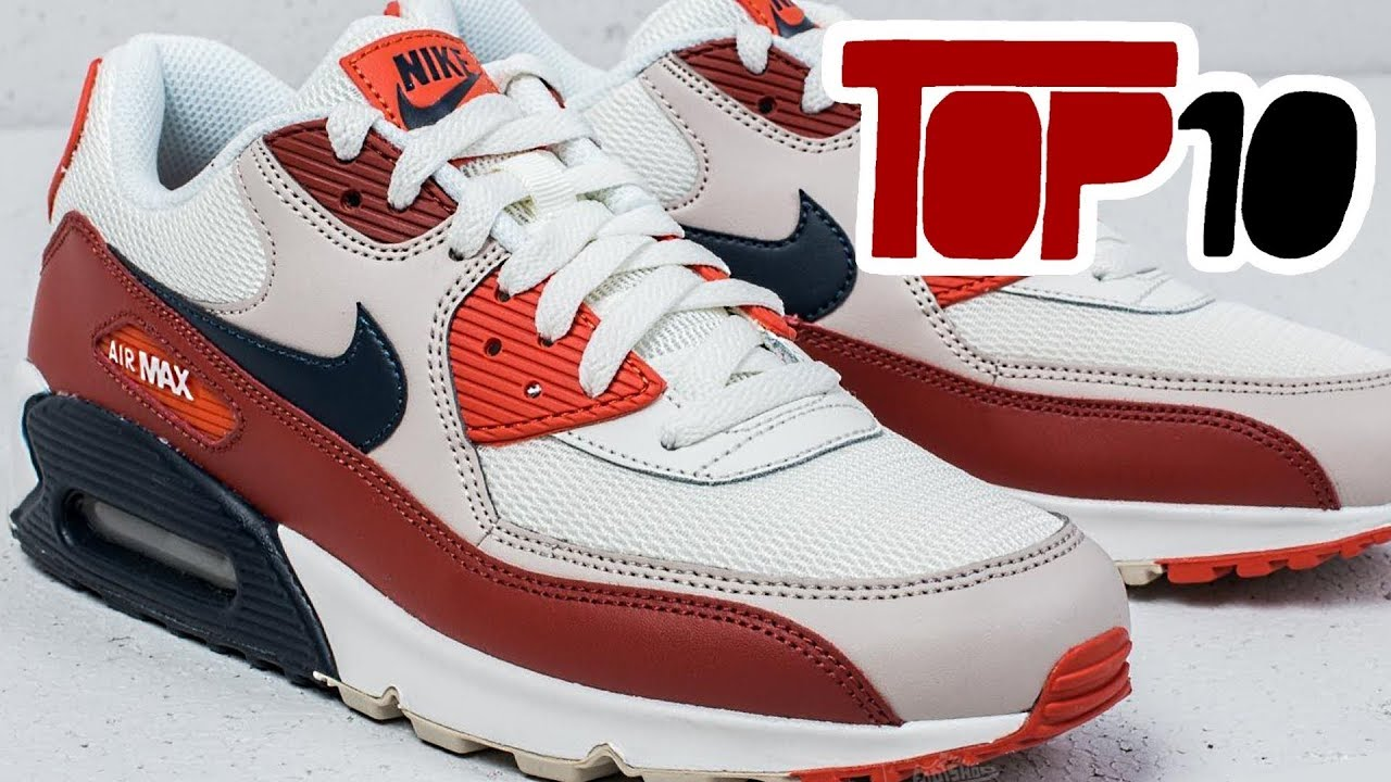 Top 10 Nike Air Max 90 Shoes Of 2018