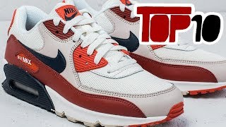 Gambar cover Top 10 Nike Air Max 90 Shoes Of 2018