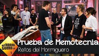 La memoria de Blanca Suárez y Macarena García, a prueba - El Hormiguero 3.0