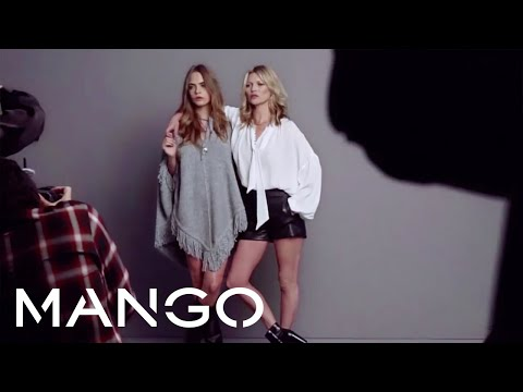 Making Of - MANGO Fall Winter 2015 - Kate Moss & Cara Delevingne - New Collection #SOMETHINGINCOMMON