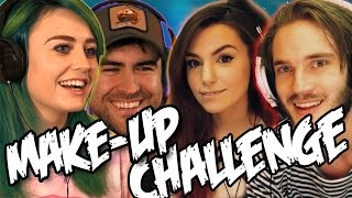 MAKE-UP CHALLENGE w/ GIRLFRIENDS (BroKen #6)