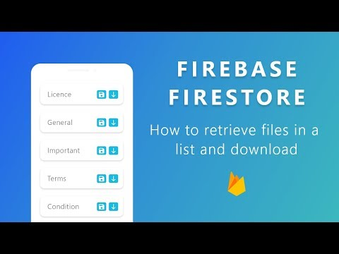 How To Download Files From Firebase Storage To Android Device Using RecyclerView | Simple Tutorial