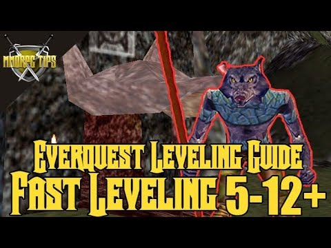 Project 1999 / Classic EQ Fast Quest Leveling 5-12+