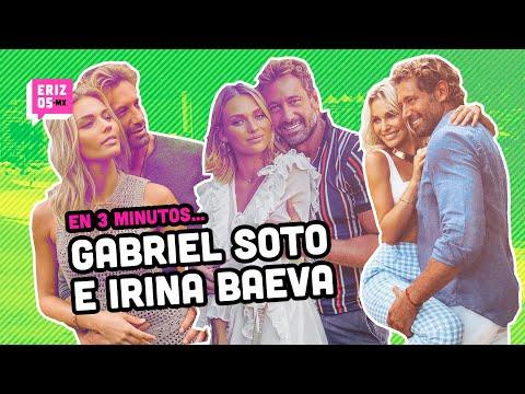 ¿Cómo comenzó la relación de Irina Baeva y Gabriel Soto? | En 3 minutos... | Erizos