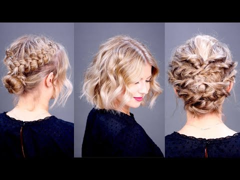 Three Holiday Elegant Short Hairstyles | Milabu